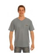 Men's Dark Blue Tan Through T-Shirt