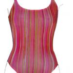 Regi Strips - Tan Through - Swimsuit