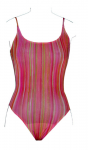 Regi Strips - Tan Through - Swimsuit