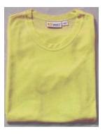 Men's Yellow Tan Through T-Shirt