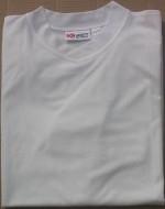 Men's White Tan Through T-Shirt