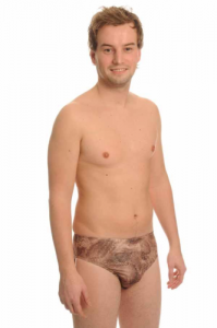 Bondi Brown - Tan Through - Swim trunks