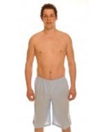 Men's Heaven Blue Tan Through Board Shorts