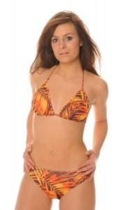 Coste Verde - Halterneck Tan Through Bikini
