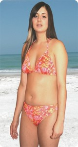 Maui-Hamoa - Halterneck Tan Through Bikini
